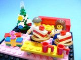 待ちに待ったクリスマス!お部屋でぬくぬくとケーキを食べよう