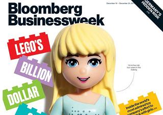 あのBloomberg Businessweek誌にレゴ フレンズ特集が