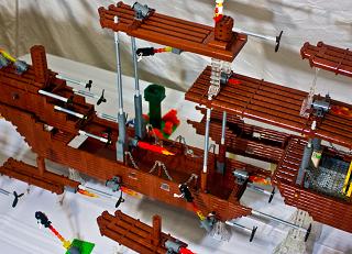 レゴで『スーパーマリオブラザーズ3』の飛行船を完全再現