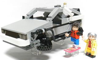レゴ公式でバック・トゥ・ザ・フューチャーの「デロリアン」キットが登場決定