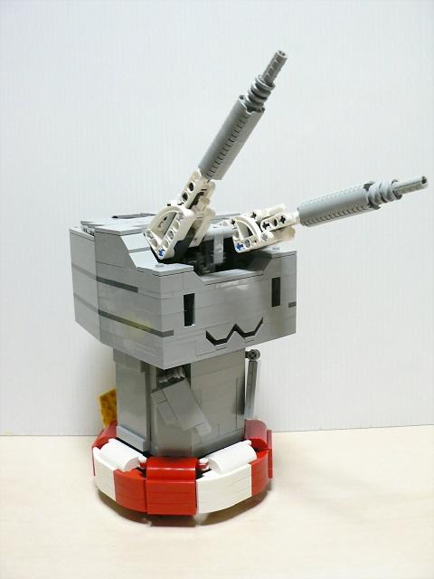 レゴでラジコン連装砲ちゃんを作ってみた