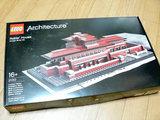 >#21010 レゴ アーキテクチャー ロビー邸 箱表