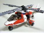 #7903 Rescue Helicopter できあがり