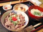 松阪牛の牛丼ランチ