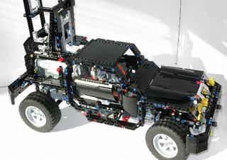 レゴでストリートビューカー
