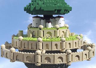 レゴで天空の城ラピュタ