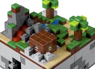 「レゴ・マインクラフト」の画像がついに公開