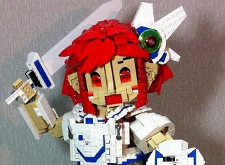 ITちゃんレゴブロックバージョン、大地に立つ!!