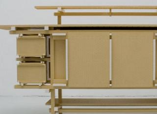 2万5000個のLEGOで作った実用的テーブル