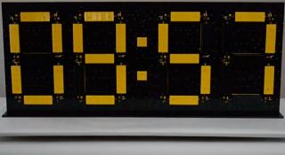 レゴ マインドストームで作られた時計