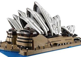 レゴの新セット、シドニー・オペラハウス