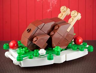 レゴで作るクリスマスデコレーション