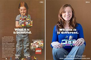 あのステキな笑顔のレゴ広告の少女が大成長