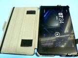 Moko Nexus7 スリム&フィット マルチアングル カバー 装着