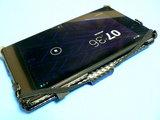 Moko Nexus7 スリム&フィット マルチアングル カバー 開けたところ
