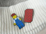 LEGOピンズ(ブロック と ミニフィグ)